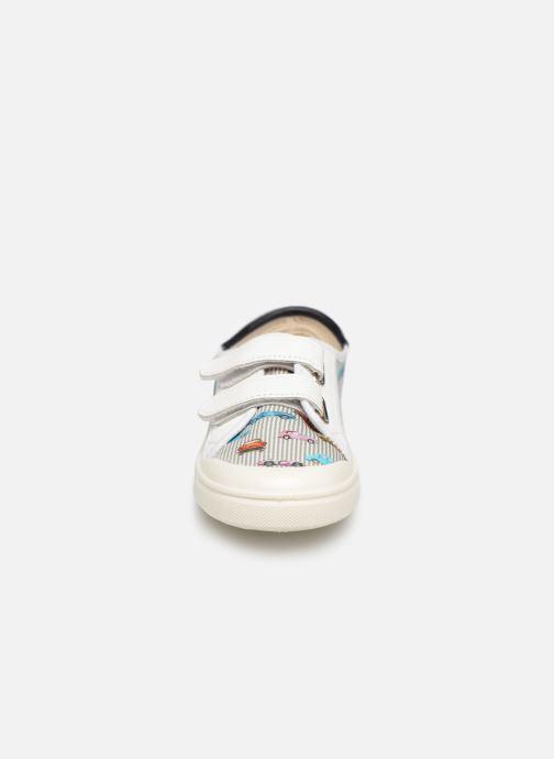 Baskets PèPè Mustang Multicolore vue portées chaussures