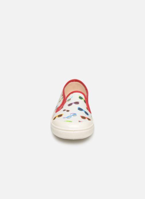 Baskets PèPè Tess.Lunettes Multicolore vue portées chaussures