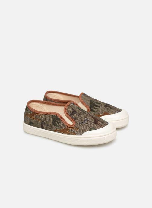 Sneakers PèPè Tessuto Safari Multi 3/4 billede