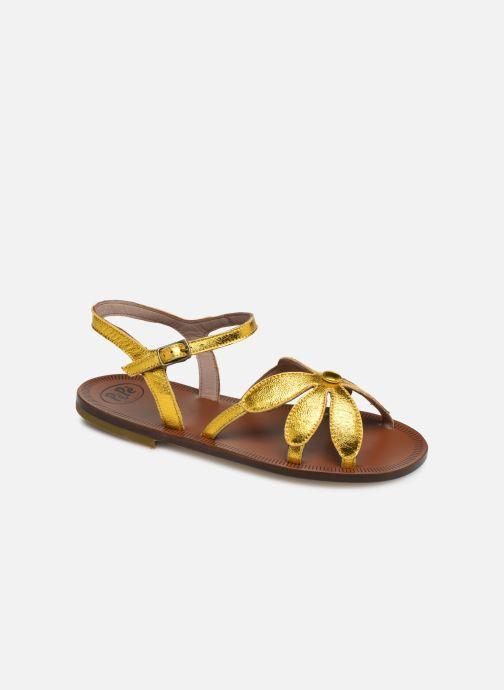 Sandales et nu-pieds PèPè Laminato Argent vue détail/paire