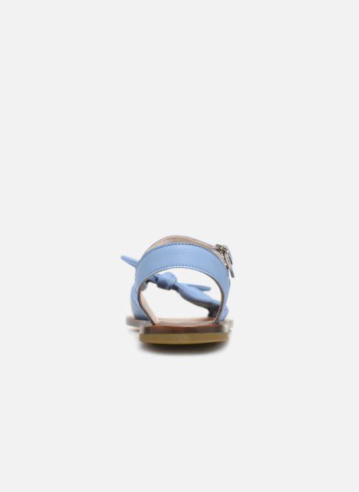 Sandalen PèPè Nappa Blauw rechts