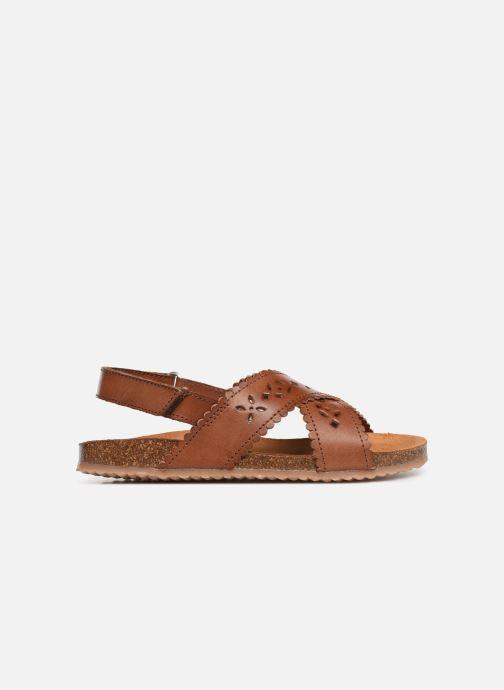 Sandales et nu-pieds PèPè Vacchetta Marron vue derrière