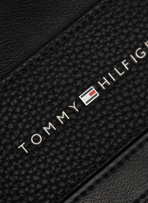 Sacs homme Tommy Hilfiger TH BUSINESS MINI CROSSOVER Noir vue gauche