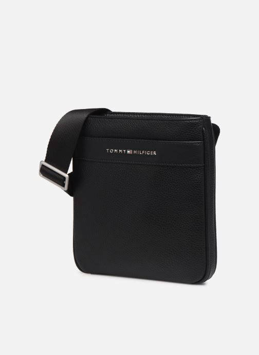 Bolsos de hombre Tommy Hilfiger TH BUSINESS MINI CROSSOVER Negro vista del modelo