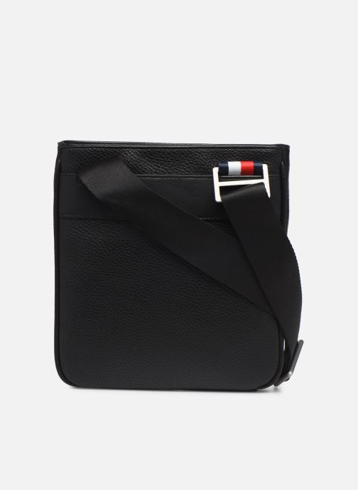 Herentassen Tommy Hilfiger TH BUSINESS MINI CROSSOVER Zwart voorkant
