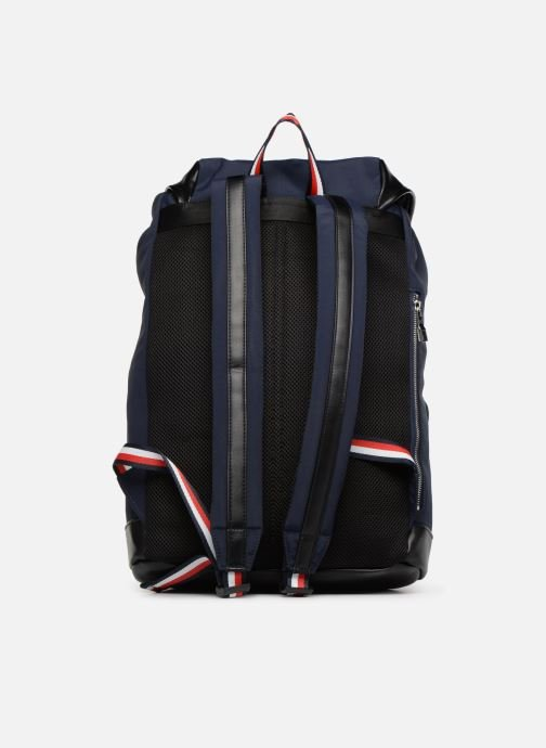 Sacs à dos Tommy Hilfiger URBAN NOVELTY FLAP BACKPACK Bleu vue face