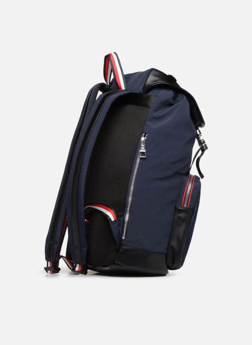 Sacs à dos Tommy Hilfiger URBAN NOVELTY FLAP BACKPACK Bleu vue droite
