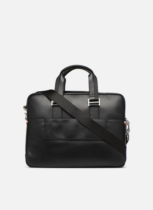Sacs ordinateur Tommy Hilfiger TH BUSINESS COMPUTER BAG Noir vue face