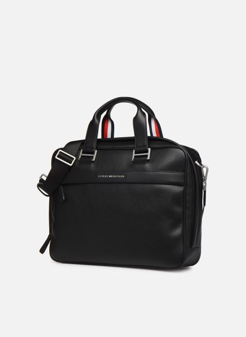Computertassen Tommy Hilfiger TH BUSINESS COMPUTER BAG Zwart model