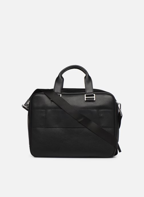 Laptop cases Tommy Hilfiger TH BUSINESS COMPUTER BAG Black front view