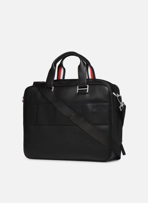 Computertassen Tommy Hilfiger TH BUSINESS COMPUTER BAG Zwart rechts