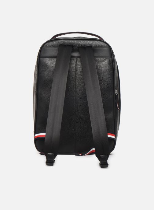 Mochilas Tommy Hilfiger TH BUSINESS BACKPACK Negro vista de frente