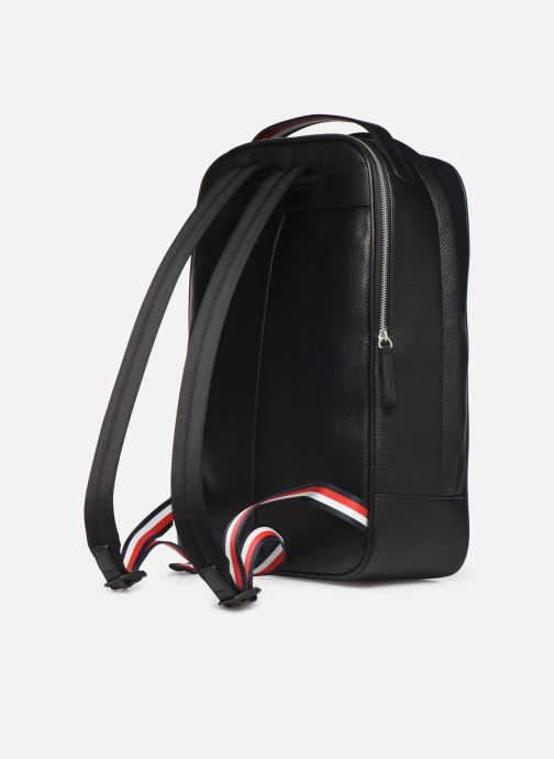 Mochilas Tommy Hilfiger TH BUSINESS BACKPACK Negro vista lateral derecha