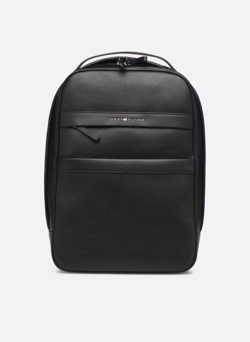 Mochilas Tommy Hilfiger TH BUSINESS BACKPACK Negro vista de detalle / par