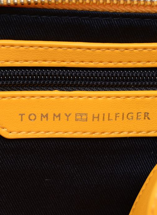Sacs à main Tommy Hilfiger COOL TOMMY MINI TRUNK Jaune vue derrière