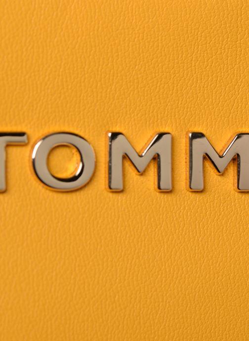 Sacs à main Tommy Hilfiger COOL TOMMY MINI TRUNK Jaune vue gauche