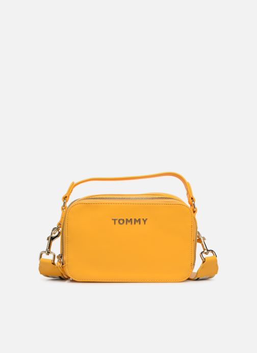 Sacs à main Tommy Hilfiger COOL TOMMY MINI TRUNK Jaune vue détail/paire