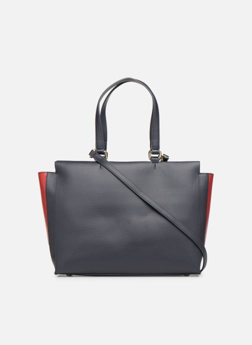 Sacs à main Tommy Hilfiger EFFORTLESS SAFFIANO EW TOTE Bleu vue face