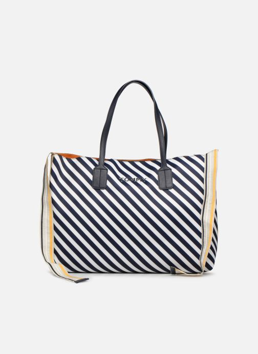 Handtaschen Tommy Hilfiger COOL TOMMY TOTE blau detaillierte ansicht/modell