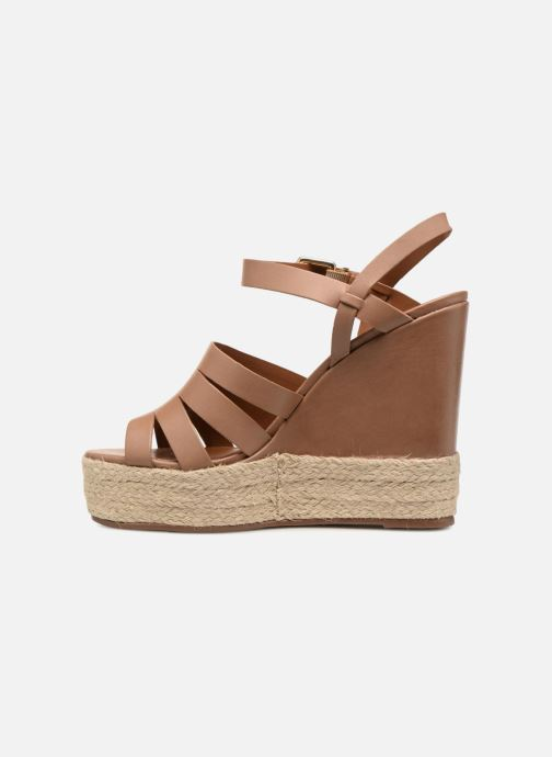 Sandals KG By Kurt Geiger Aura Brown front view
