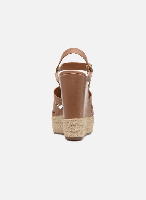 Sandali e scarpe aperte Kurt Geiger Aura Marrone immagine destra