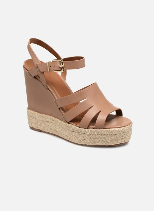 Sandals KG By Kurt Geiger Aura Brown detailed view/ Pair view