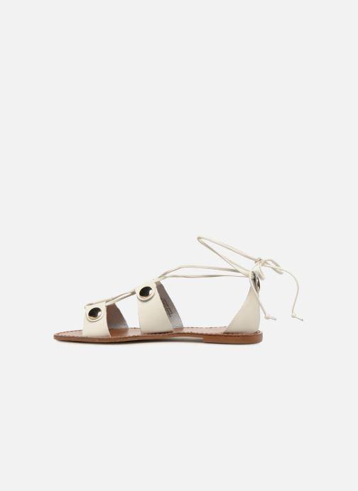 Sandales et nu-pieds KG By Kurt Geiger Marci Blanc vue face