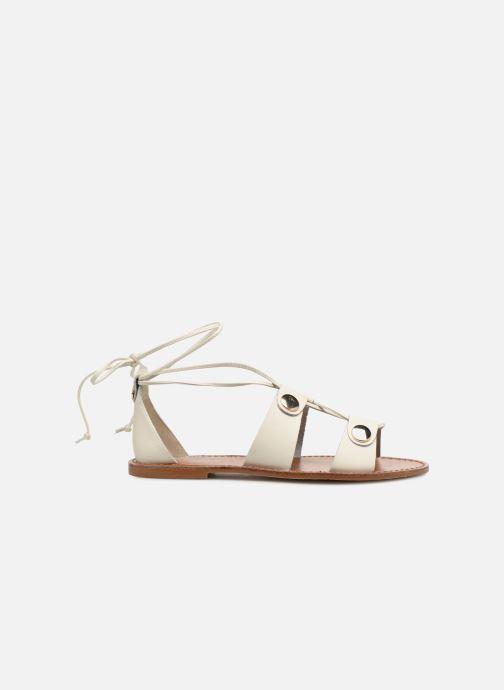Sandales et nu-pieds KG By Kurt Geiger Marci Blanc vue derrière
