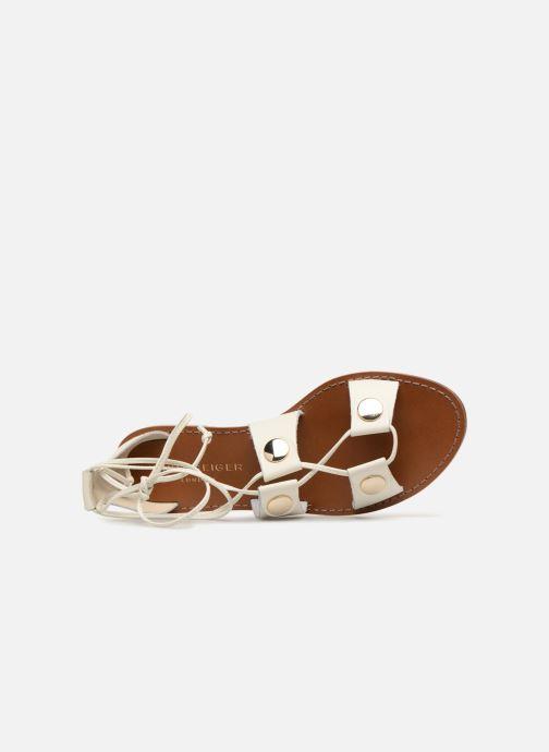 Sandales et nu-pieds KG By Kurt Geiger Marci Blanc vue gauche