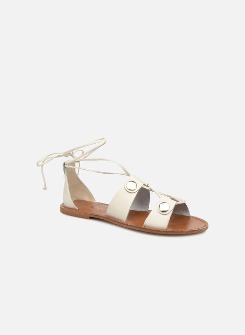 Sandales et nu-pieds KG By Kurt Geiger Marci Blanc vue détail/paire