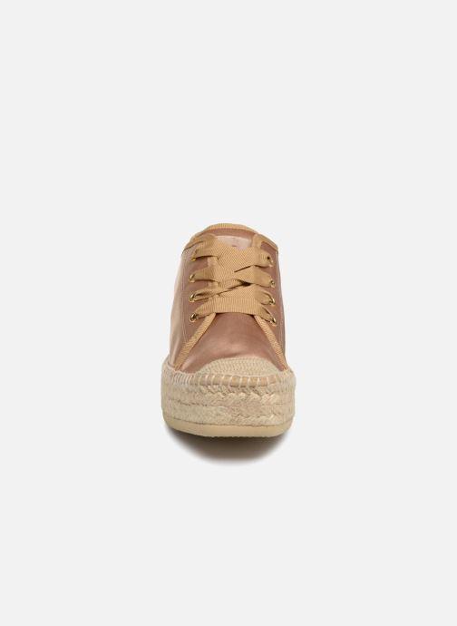 Espadrilles Kanna Noya Marron vue portées chaussures