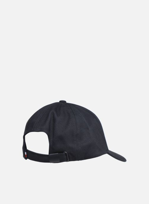 Kappe Tommy Hilfiger FLAG CAP blau schuhe getragen