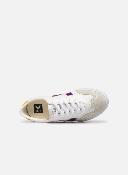 Trainers Veja Volley W White view from the left