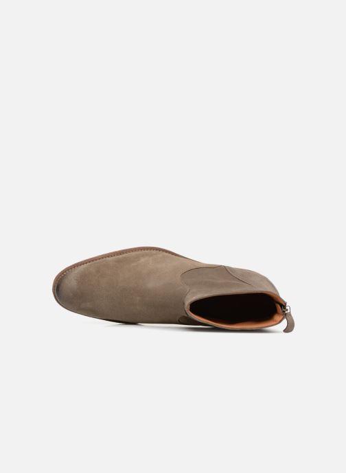 Bottines et boots Anthology Paris 6834D Marron vue gauche