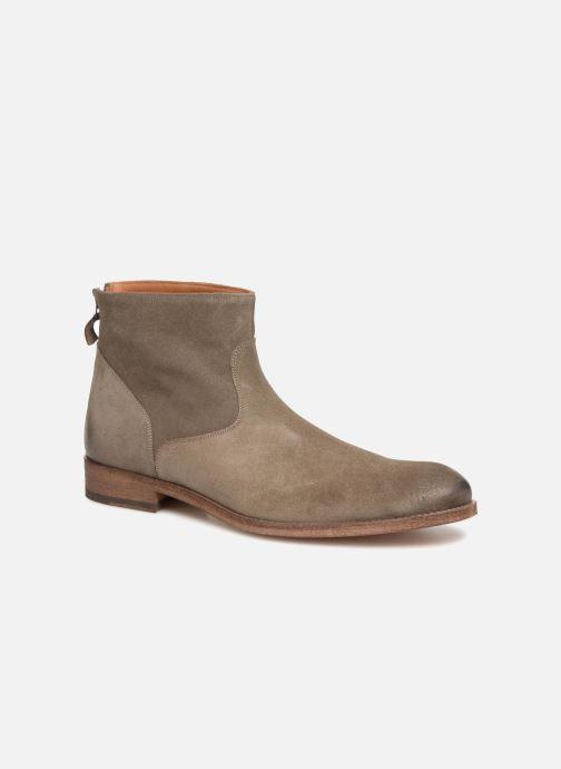 Bottines et boots Anthology Paris 6834D Marron vue détail/paire