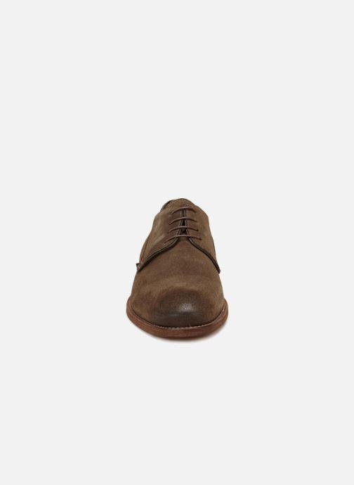 Chaussures à lacets Anthology Paris 6907 Marron vue portées chaussures