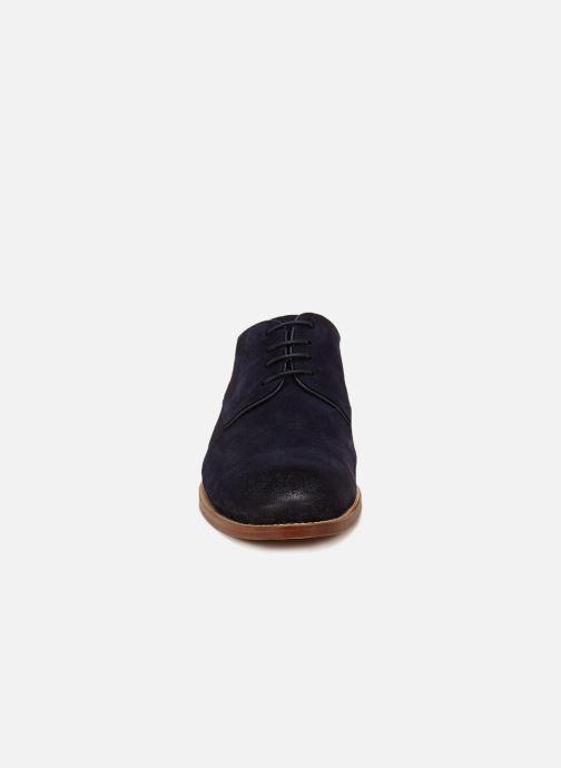 Chaussures à lacets Anthology Paris 7314 Bleu vue portées chaussures