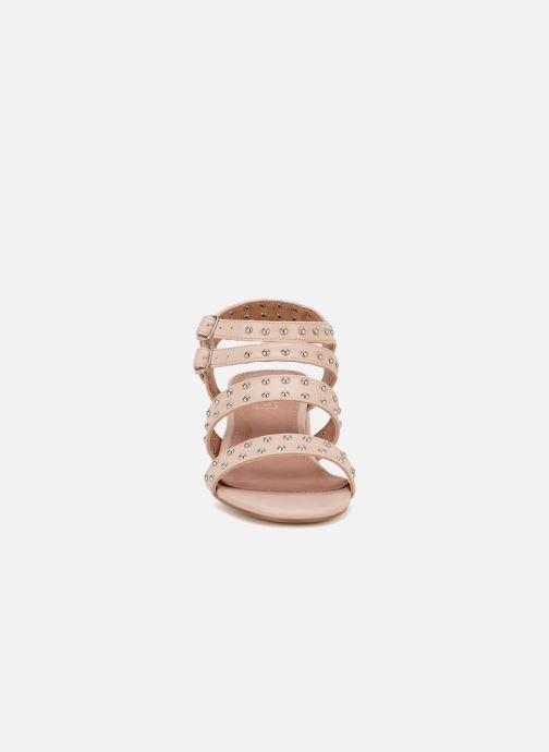 Sandales et nu-pieds Vanessa Wu SD1760 Rose vue portées chaussures