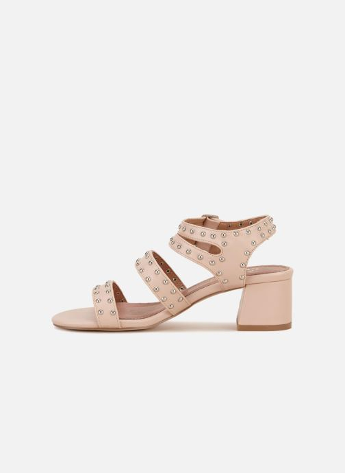Sandales et nu-pieds Vanessa Wu SD1760 Rose vue face