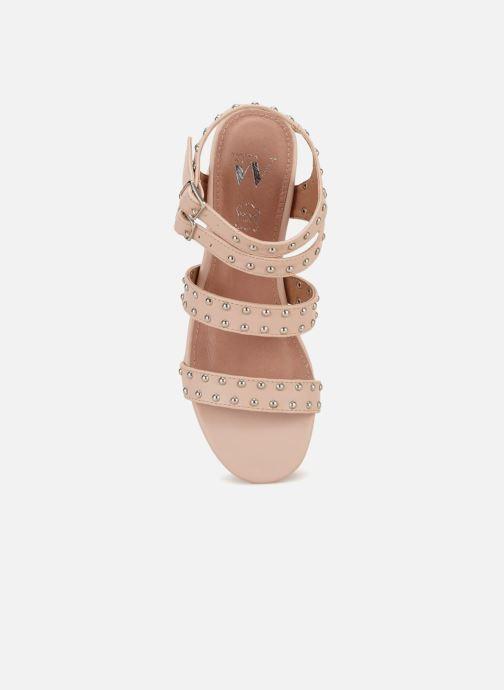 Chez Sandales Et Wu pieds rose Sd1760 Nu Vanessa wqt4x0C