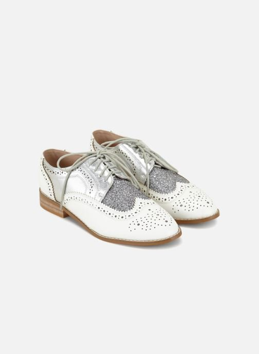 Chaussures à lacets Vanessa Wu RL1756 Blanc vue face