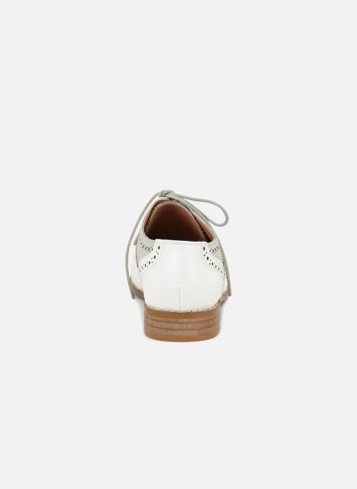 Chaussures à lacets Vanessa Wu RL1756 Blanc vue droite