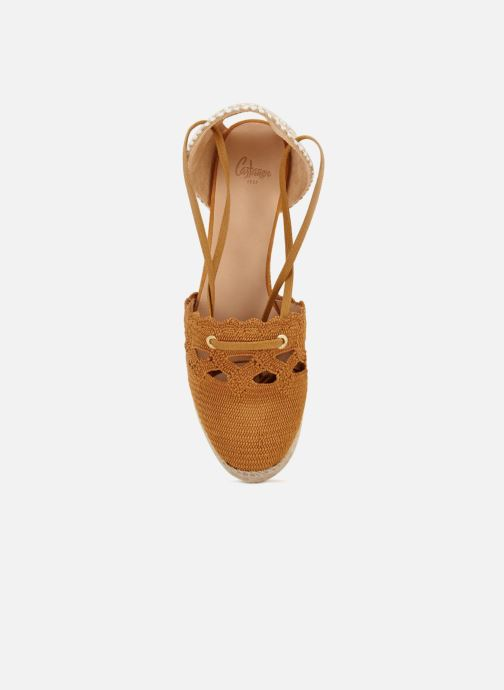 Espadrilles Castaner Cerezo Yellow view from the left