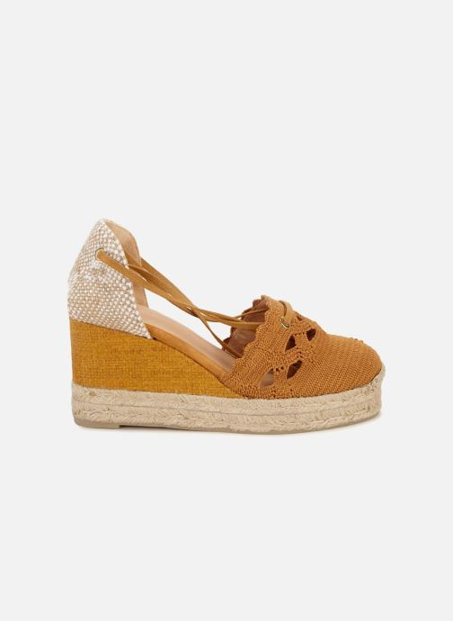 Espadrilles Castaner Cerezo Yellow detailed view/ Pair view
