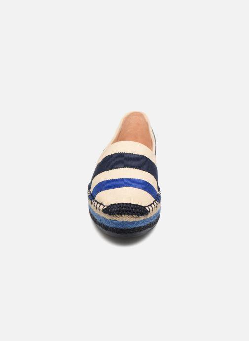 Espadrilles Castaner Kati Bleu vue portées chaussures