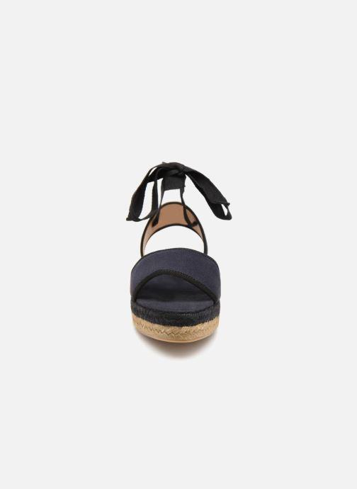Espadrilles Castaner Worquidea Bleu vue portées chaussures