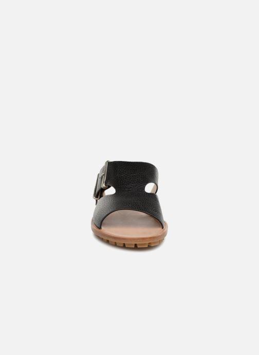 Mules et sabots Jil Sander Navy JN30030 Noir vue portées chaussures
