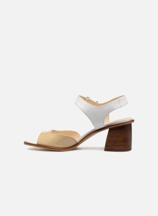 Sandales et nu-pieds Jil Sander Navy JN30041 Blanc vue face