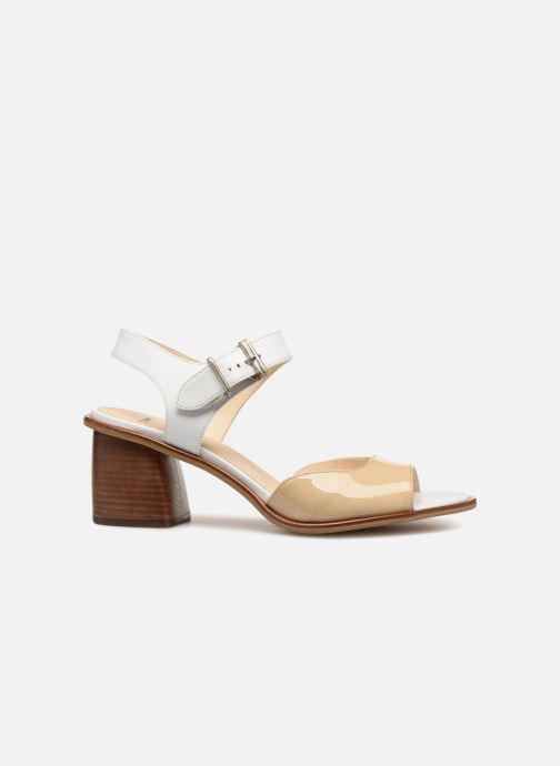 Sandales et nu-pieds Jil Sander Navy JN30041 Blanc vue derrière
