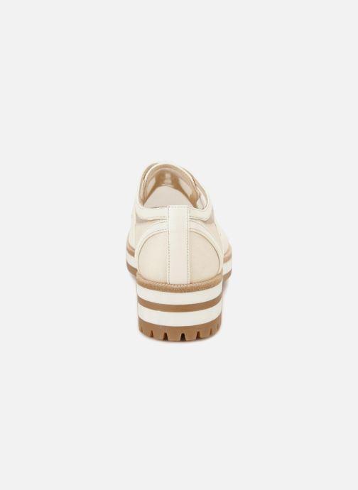 Chaussures à lacets Jil Sander Navy JN30071 Blanc vue droite